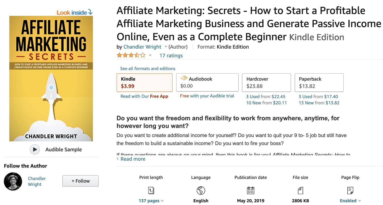 Affiliate Marketing- Secrets
