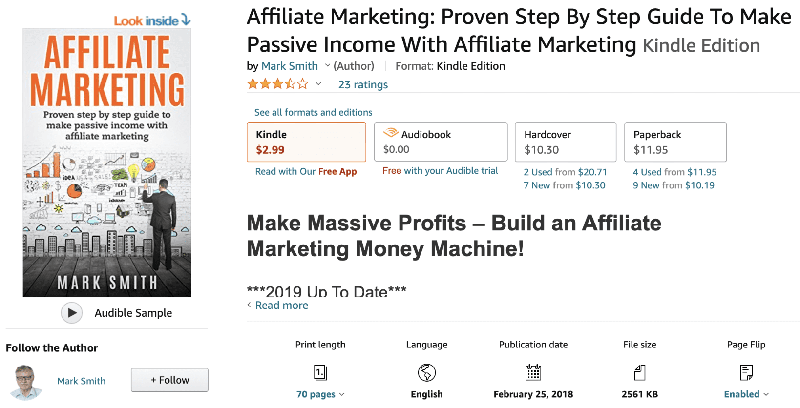 Affiliate Marketing by Mark Smith